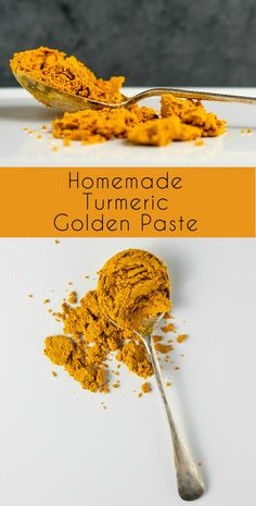 Homemade Turmeric Golden Paste
