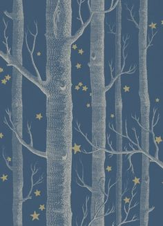 Cole & Son - Whimsical Collection - Woods & Stars - Colour - View All - Wallpaper & Decor