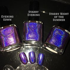 Starry Evening!!!   Only 28 bottles only. Each customer is limited to one bottle only. All F.U.N lacquers products are 5-FREE! They do not contain Dibutyl Phthalate (DBP), Toluene, Formaldehyde, Formaldehyde Resin, Camphor and it is cruelty FREE.*Please read the Shipping and Shop Policy pages before you commit to purchase.