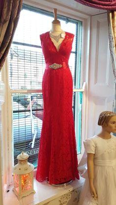 Beautiful red formal wear