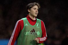 Brooklyn Beckham Photos Photos - Brooklyn Beckham of Great Britain and Ireland warms up during the David Beckham Match for Children in aid of UNICEF between Great Britain & Ireland and Rest of the World at Old Trafford on November 14, 2015 in Manchester, England. - David Beckham Match for Children in Aid of UNICEF