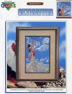 Skyhunter - 1/5 Solo Patrones Punto Cruz | Aprender manualidades es facilisimo.com