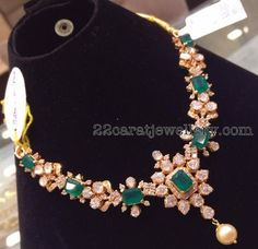 Latest Collection of best Indian Jewellery Designs. Gold Jewellery Design, Gold Jewelry, Beaded Jewelry, Jewelery, Gold Necklace, Short Necklace, Necklace Set, Jewelry Sets, Gold Earrings