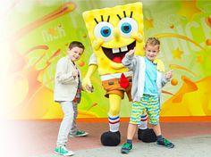 SpongeBob freut sich auf Deinen Besuch!