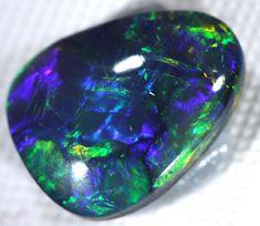 n1 QUALITY BLACK OPAL L RIDGE 1.4 CTS INV-80 TRAY1 Black Opals, Australian Opals