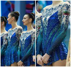 Rhythmic gymnastics leotard of group Bulgaria