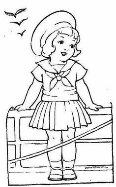 #nena #niña #flequillo #marinera