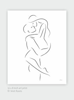 Romantic and sexy lovers line art. Black and white art print. : Romantic and sexy lovers line art. Black and white art print. Beauty Illustration, Illustration Design Graphique, Illustration Art Drawing, Doodle Drawings, Art Drawings Sketches, Easy Drawings, Minimal Drawings, Romantic Drawing, Outline Art