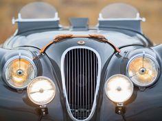 Vehicles for Adventure | Grey 1949 Jaguar XK120