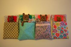 sleep bags Sylvanian..... Fun!!
