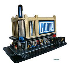 """""""Monde Cinema"""" by snaillad. Another great model which captures elements of the Art Deco style."""