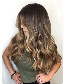 100% Brazilian Human Hair Wigs Remy Wavy Balayage Brown Lace Front/Full Lace Wig