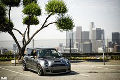 mini cooper s 2002 rsr samtrak jimek la dodger stadium downtown silver custom low ssr
