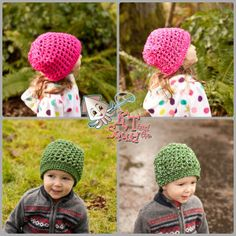 FREE crochet hat pattern. Walkabout slouch by KT and the Squid