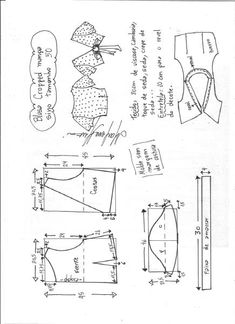 Introducing sewing to children a very good idea for many factors. Sewing is surely an enjoyable activity that people of any age enjoy. When you want to show a child how you can sew, there are. Dress Sewing Patterns, Sewing Patterns Free, Sewing Tutorials, Clothing Patterns, Fashion Sewing, Diy Fashion, Underwear Pattern, Sewing Blouses, Sewing Lessons
