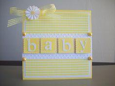 Daisylove Creations: Cricut 360 - Challenge #13 - Welcome Baby