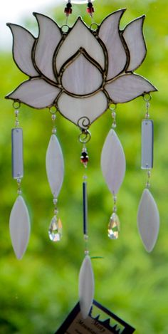 Stained Glass Wind Chime Zen