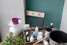 Naturalny krem (do twarzy i ciała) - przygotowanie od podstaw. - Klaudyna Hebda Blog Tableware, Blog, Dinnerware, Tablewares, Blogging, Dishes, Place Settings