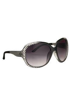 ea9568fab39 Snake Skin and Rhinestone Sunglasses