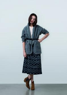 http://www.gatrimon.com/eshop/fr/ Coat : NOLA Top : ADEL Skirt : ASTRA Boots : ELSEA