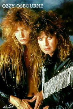 Zakk Wylde and Ozzy Osbourne.......