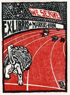 Ex libris by Rocco Marvaso