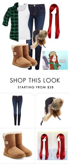 """""""wendy"""" by undeadzelda ❤ liked on Polyvore featuring J Brand, Preen, UGG Australia, American Vintage and Abercrombie & Fitch"""