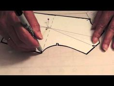 ▶ Pivoting the bodice darts pattern DD - YouTube-great for darts spc