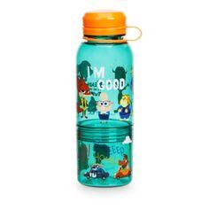 Auf dieser hübschen Flasche präsentieren sich lebhafte Charaktere, die beim Trinken für eine fröhliche Stimmung sorgen. Die aufgeschraubte Dose ist perfekt für Snacks. Der Deckel ist mit einer Lasche befestigt und kann nicht verloren gehen.