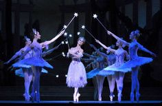 Francesca Filpi as the Fairy Godmother in Frederick Ashton's Cinderella by the Royal Ballet. Photo by John Ross