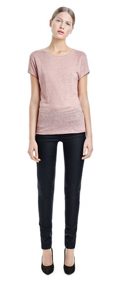 Linen Tee - Early Spring Arrivals - Woman - Filippa K