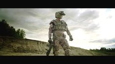 Revision Military - Exoskeleton Integrated Soldier Protection System... This would be a serious #(EO)2 canvas. #eo2us