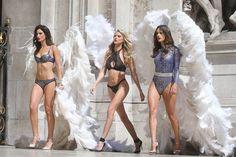 Les anges Victoria's Secret à l'Opéra de Paris