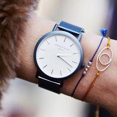 The New Blue keeps it playful #bluewatch #newblue #rosefield #rosefieldwatches #amsterdam #newyork #nyc