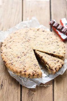 Crostata cookies: la Ricetta con il ripieno morbido di cioccolato