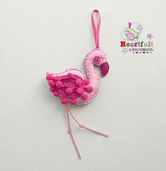 Another Pink Flamingo Decoration