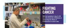 With D. Gary Young Foundation's help, Dr. HK Lin at the University of Oklahoma is researching the effects of Frankincense on cancer cells. #youngliving