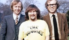 """The Goodies a British television comedy series of the 1970s. The series, combines surreal sketches and situation comedy, was broadcast by BBC 2 from 1970 until 1980 and was then broadcast by the ITV company LWT for a year, between 1981 to 1982. The show was co-written by and starred Tim Brooke-Taylor, Graeme Garden and Bill Oddie (together known as """"The Goodies""""). Bill Oddie also wrote the music and songs for the series — while """"The Goodies Theme"""" was co-written by Bill Oddie and Michael…"""