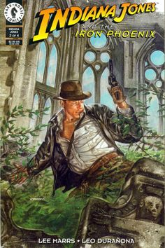 COMIC_indiana_jones_iron_phoenix_1 #comic #cover #art