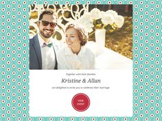 With over 300 themes to choose from, choosing an invitation that matches your wedding style is only a few clicks away. LittleKnot's Wedding Invitation - Light-speed sending | Easy RSVP | Photo Collage and so much more! #HappyPlanning www.littleknot.com