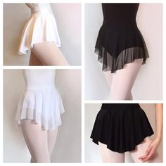 Back to class- Dance skirts in classic colors as well as a selection of pretty prints and solids. Dance Outfits, Dance Dresses, Dance Skirts, Ballet Outfits, Party Dresses, Dance Costumes Lyrical, Dance Leotards, Mode Ulzzang, Tutu Skirt Women