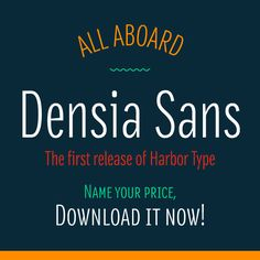 densia sans font