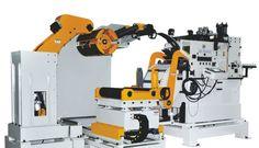 Coil handling equipment, Automatic decoiler,straightener feeder machine,Model: GLK5 | LinkedIn