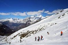 Swish! Swish! Skiing in the Swiss Alps!
