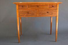 5 Drawer Shaker Hall Table - by Marco Cecala @ LumberJocks.com ...