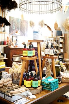 Shelley Panton's range homewares and gifts, many locally made.  Photo – Caitlin Mills.