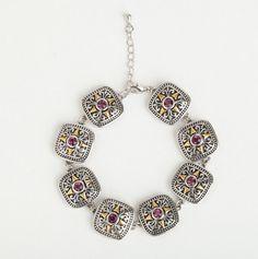 silver bracelet <3