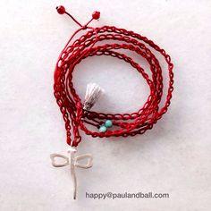 Wax thread and silver 925