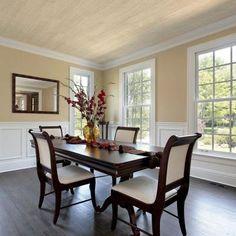 TopTile Adirondack White Woodgrain Ceiling and Wall Plank - 5 in. x 7.75 in. Take Home Sample