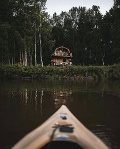 """6,767 Likes, 46 Comments - Cabin Folk (@cabinfolk) on Instagram: """"Arriving at your cabin by canoe, what a wild adventure Photo by @wanderingalaskan Share your…"""""""